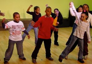 Kids Taking Dance Lessons